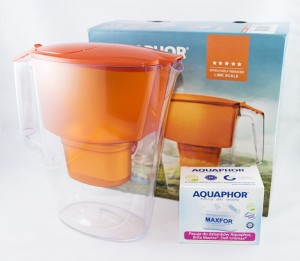 Dzbanek filtrujący Aquaphor Time Orange + B25 Maxfor
